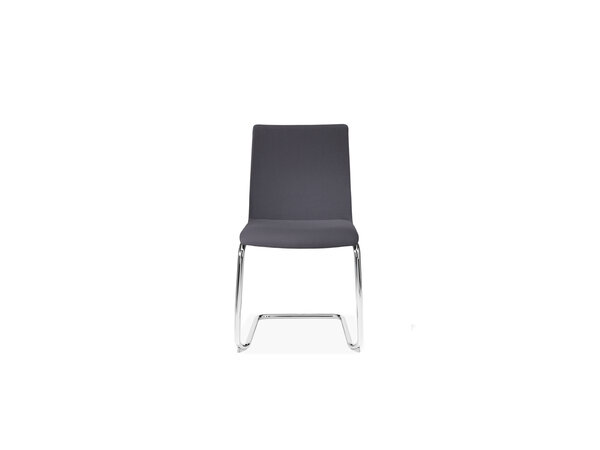 1230 Cantilever stacking side chair