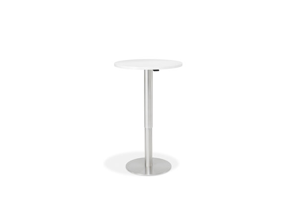 8790 Table round, height adjustable