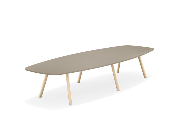 6855 Table forme de cogue, sans joint plateau